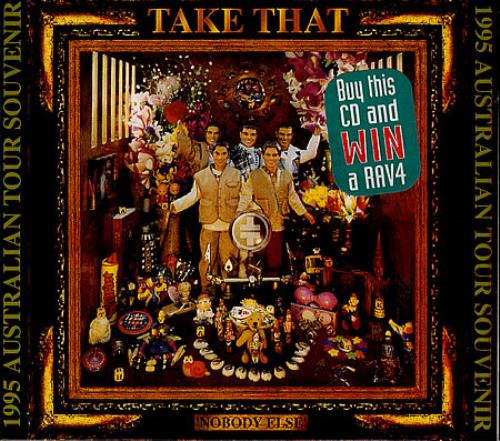 Take That Nobody Else - Limited Package CD album (CDLP) Australian TAKCDNO45072