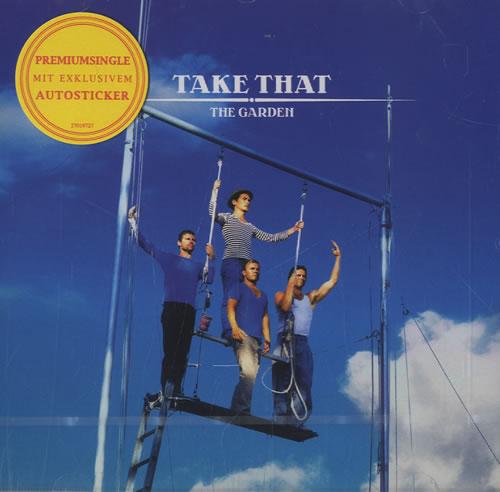 """Take That The Garden CD single (CD5 / 5"""") German TAKC5TH466587"""