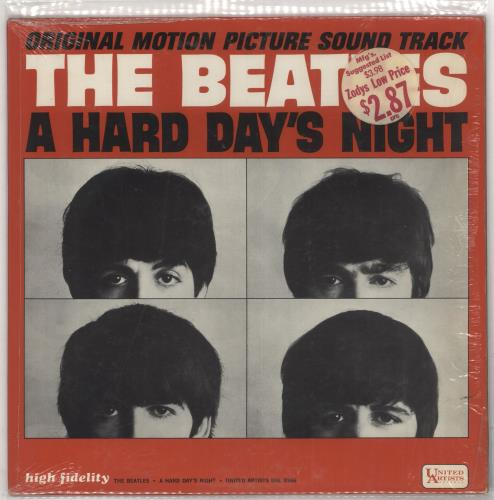 The Beatles A Hard Day's Night - 1st vinyl LP album (LP record) US BTLLPAH297820