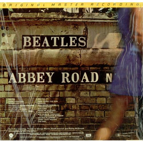 The Beatles Abbey Road - Sealed Stickered vinyl LP album (LP record) US BTLLPAB212120