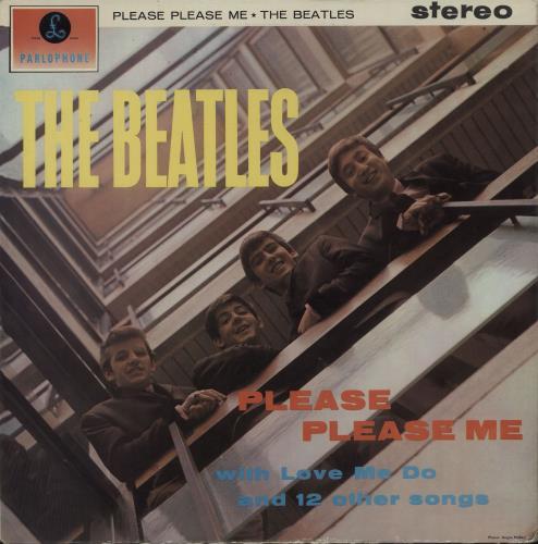 The Beatles Please Please Me - 1st - VG+ vinyl LP album (LP record) UK BTLLPPL330195