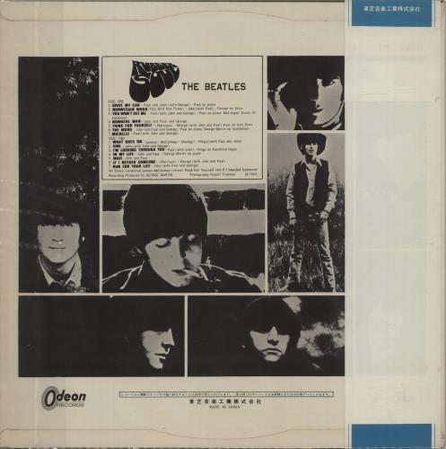 The Beatles Rubber Soul - Red Vinyl - ¥1800 Obi vinyl LP album (LP record) Japanese BTLLPRU392890