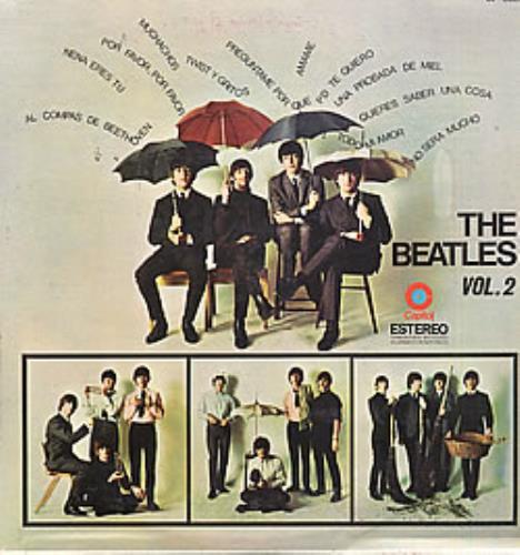 The Beatles The Beatles Vol 2 vinyl LP album (LP record) Mexican BTLLPTH254422