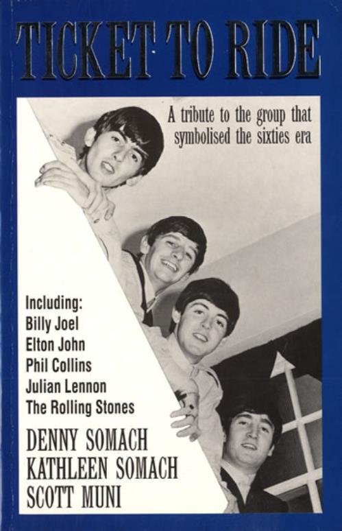 The Beatles Ticket to Ride book UK BTLBKTI556225