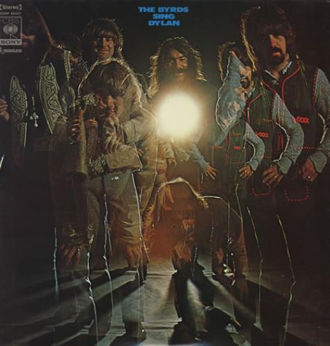 The Byrds Sing Dylan vinyl LP album (LP record) Japanese BYRLPSI358370
