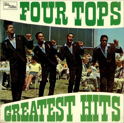 The Four Tops Greatest Hits Uk Vinyl Lp Album Lp Record