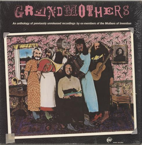 The Grandmothers The Grandmothers - A Collection Of Ex-Mothers Of Invention vinyl LP album (LP record) US GR5LPTH401964