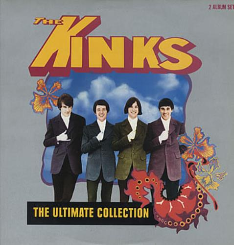 The Kinks The Ultimate Collection Uk 2 Lp Vinyl Record Set