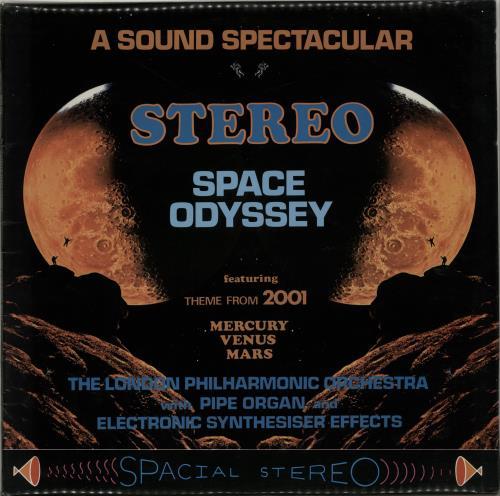 The London Philharmonic Orchestra Stereo Space Odyssey vinyl LP album (LP record) UK XIZLPST653984