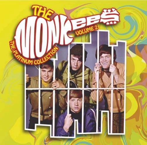 The Monkees The Platinum Collection - Volume 2 CD album (CDLP) UK MKECDTH343904