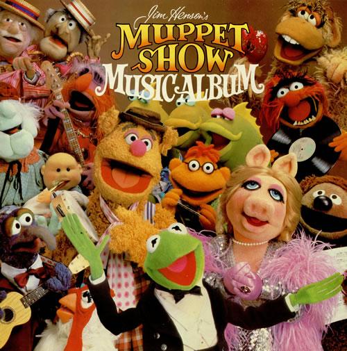The Muppets Muppet Show Music Album vinyl LP album (LP record) UK MUPLPMU457441