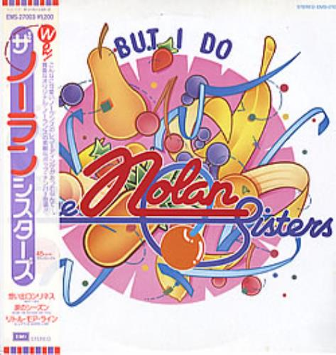 "The Nolans But I Do 12"" vinyl single (12 inch record / Maxi-single) Japanese NOL12BU258195"