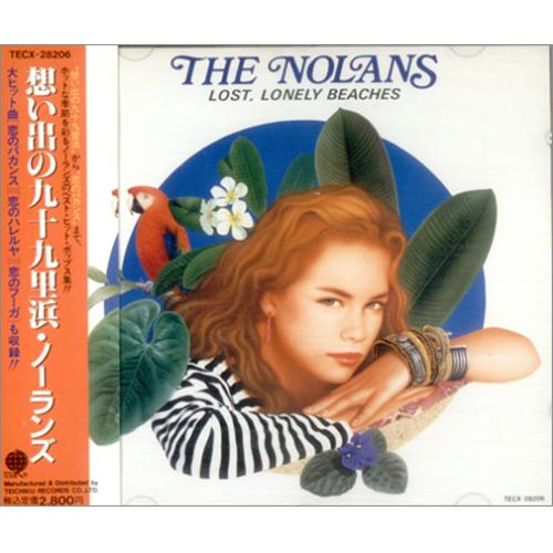 The Nolans Lost Lonely Beaches CD album (CDLP) Japanese NOLCDLO08328