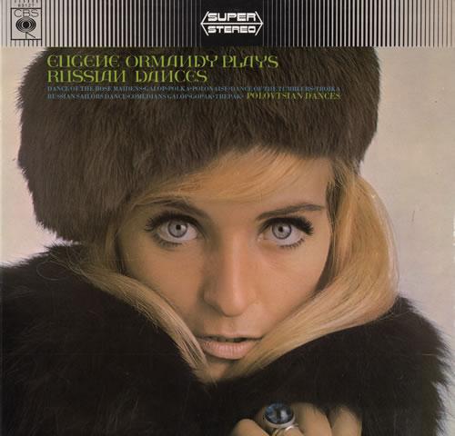 The Philadelphia Orchestra Plays Russian Dances vinyl LP album (LP record) UK XJ7LPPL554032