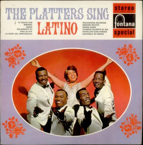 The Platters The Platters Sing Latino vinyl LP album (LP record) UK TTSLPTH547183