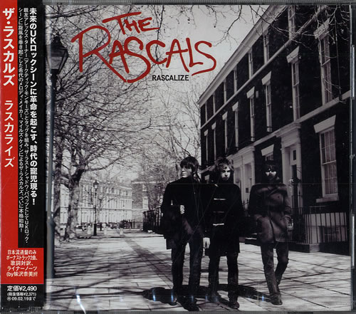 The Rascals [2000's] Rascalize CD album (CDLP) Japanese AS8CDRA440133