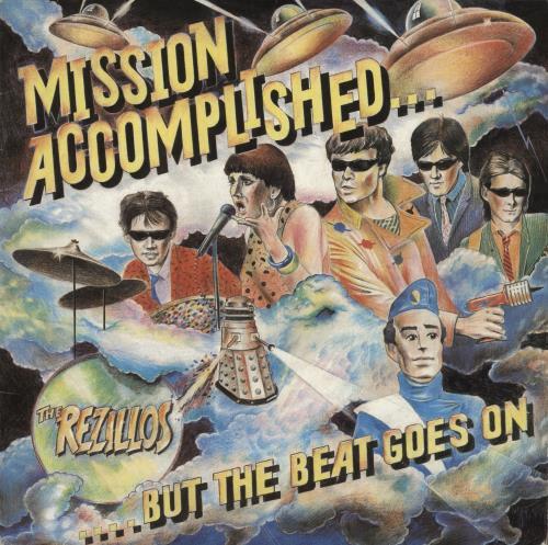 The Rezillos Mission Accomplished... But the Beat Goes On vinyl LP album (LP record) UK REZLPMI109673