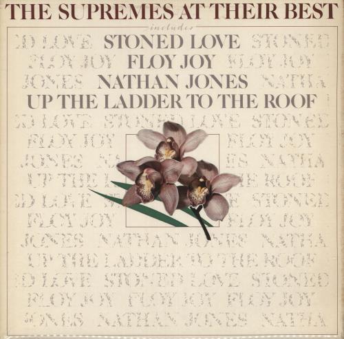 The Supremes At Their Best vinyl LP album (LP record) UK SPMLPAT497980