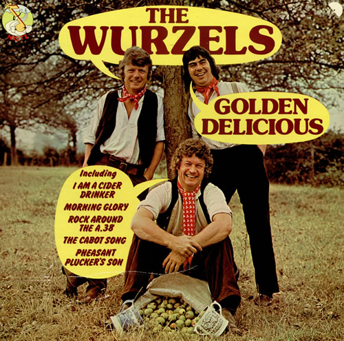 The Wurzels Golden Delicious vinyl LP album (LP record) UK WZSLPGO458079