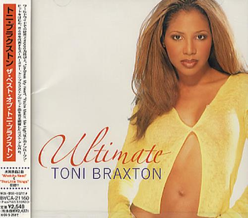 Toni Braxton Ultimate - Sealed CD album (CDLP) Japanese TBXCDUL349000