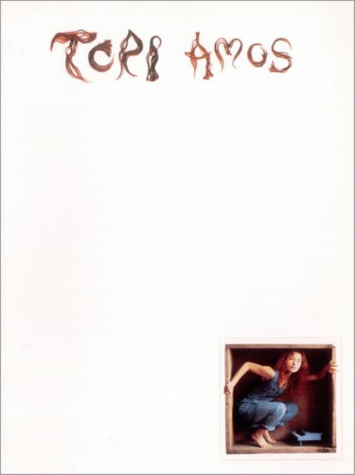 Tori Amos Little Earthquakes media press pack US TORPPLI198000