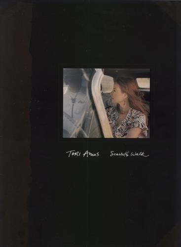 Tori Amos Scarlet's Walk tour programme US TORTRSC287676