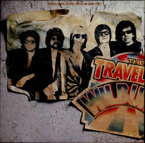 Traveling Wilburys Volume One vinyl LP album (LP record) UK TRVLPVO60515