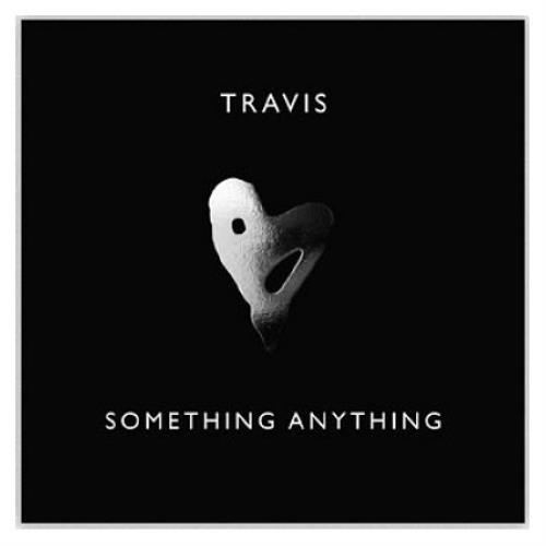 """Travis (90s) Something Anything 7"""" vinyl single (7 inch record) UK RVS07SO445109"""