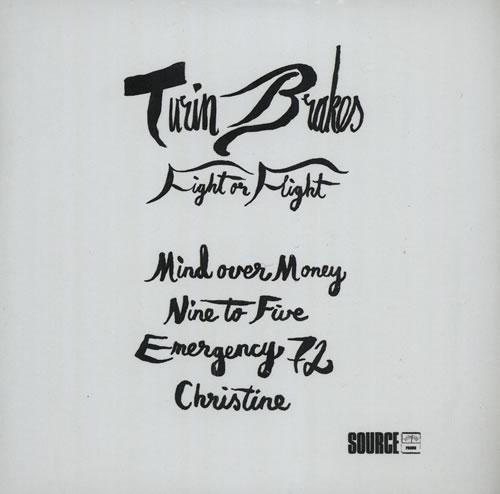 Turin Brakes Fight Or Flight CD-R acetate UK TKECRFI568808