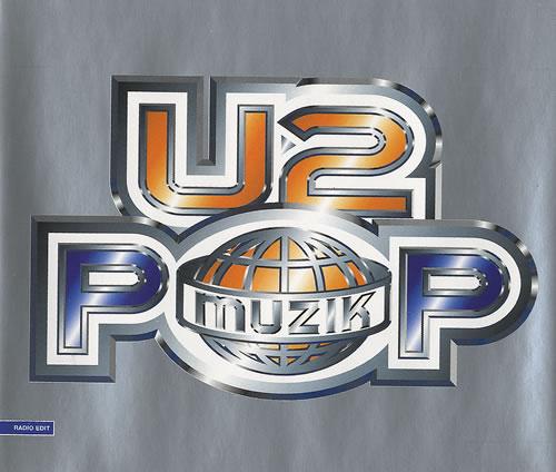 """U2 Pop Muzik CD single (CD5 / 5"""") UK U-2C5PO91538"""