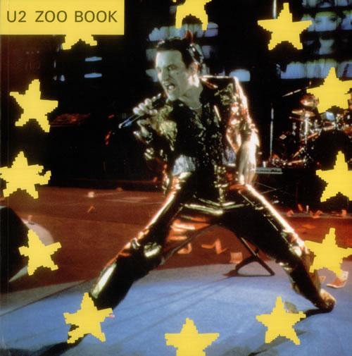 U2 Zoo Book book UK U-2BKZO545466