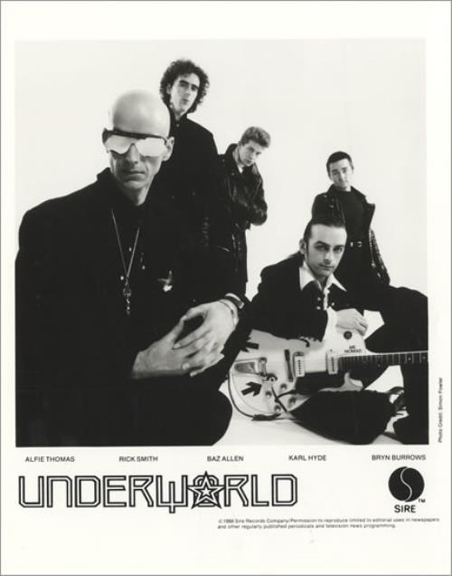 Underworld Underneath The Radar media press pack US UDWPPUN108246