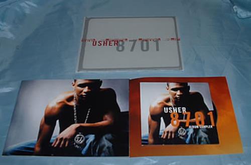 Usher 8701 Album Sampler CD album (CDLP) UK UHECDAL315770