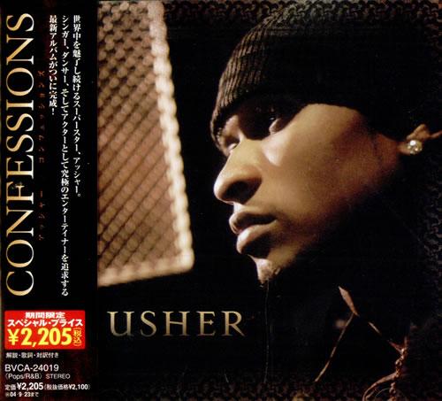 Usher Confessions CD album (CDLP) Japanese UHECDCO509082