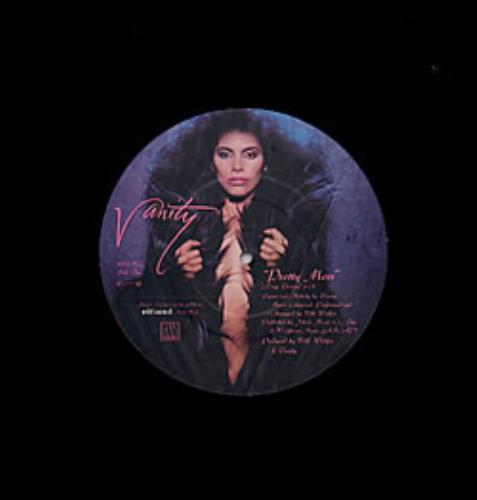 "Vanity Pretty Mess - Picture Label 12"" vinyl single (12 inch record / Maxi-single) US VTY12PR20764"