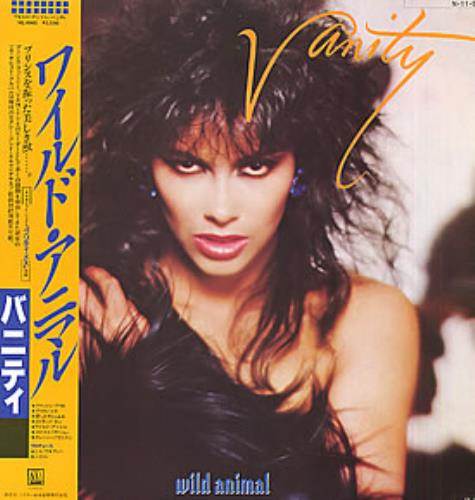 Vanity Wild Animal vinyl LP album (LP record) Japanese VTYLPWI168780