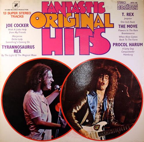 Various-60s & 70s Fantastic Original Hits vinyl LP album (LP record) UK SVALPFA558598