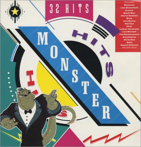 Various-Pop Monster Hits 2-LP vinyl record set (Double Album) UK 7VA2LMO253784