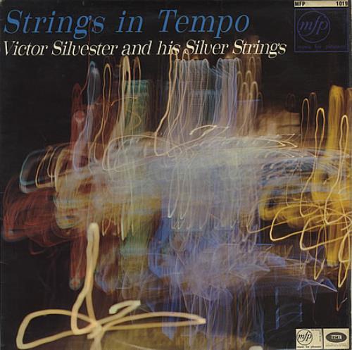 Victor Silvester Strings In Tempo vinyl LP album (LP record) UK VCSLPST387794