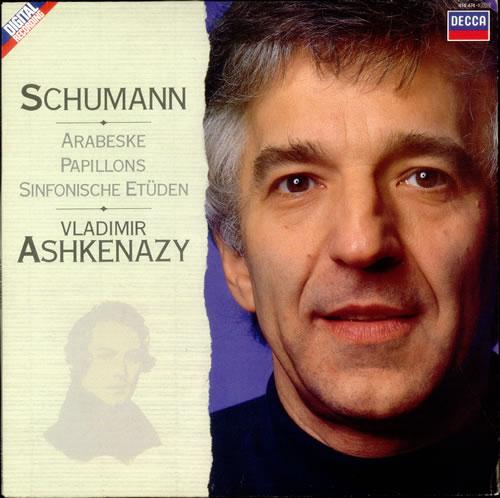Vladimir Ashkenazy Schumann: Arabeske, Papillons and Sinfonische Etuden vinyl LP album (LP record) UK VL2LPSC532265