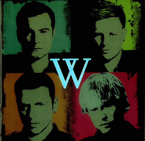 Westlife Back Home Tour tour programme UK WLITRBA434907