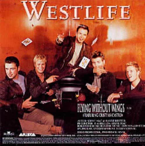 """Westlife Flying Without Wings CD single (CD5 / 5"""") Mexican WLIC5FL239371"""