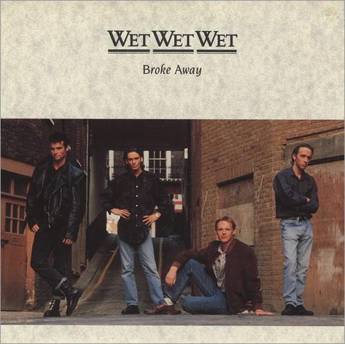 """Wet Wet Wet Broke Away 7"""" vinyl single (7 inch record) UK WET07BR233897"""