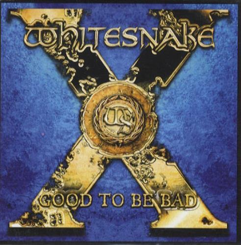 Whitesnake Good To Be Bad CD album (CDLP) German WHICDGO436632