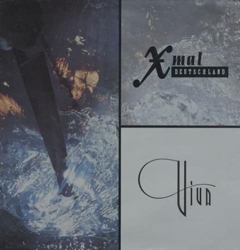 Xmal Deutschland Viva vinyl LP album (LP record) UK XMDLPVI368811