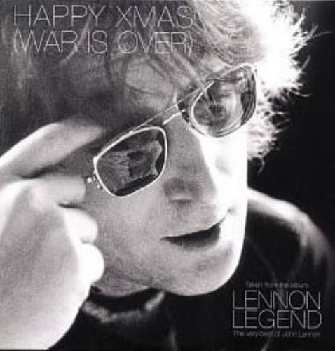 John Lennon Happy Xmas War Is Over 1997 UK CD single IMAGINE002