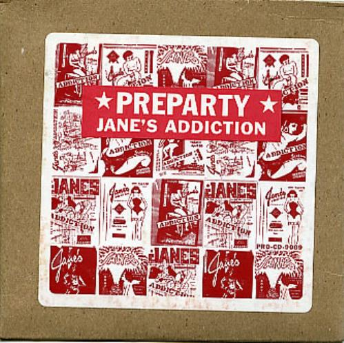 Janes Addiction Preparty 1997 USA CD single PROCD9009