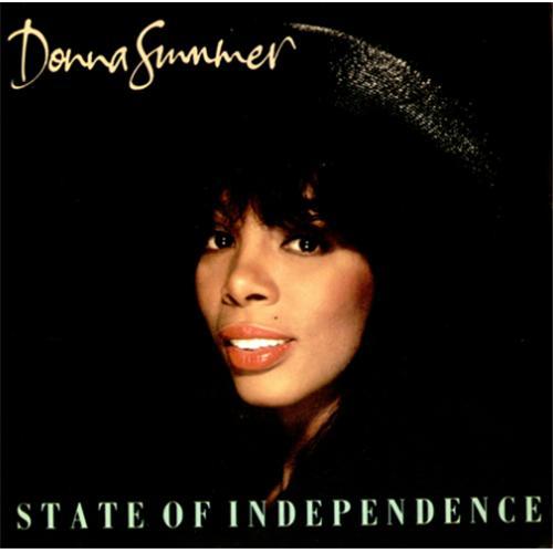 """Image of Donna Summer State Of Independence 1990 UK 7"""" vinyl U2857"""
