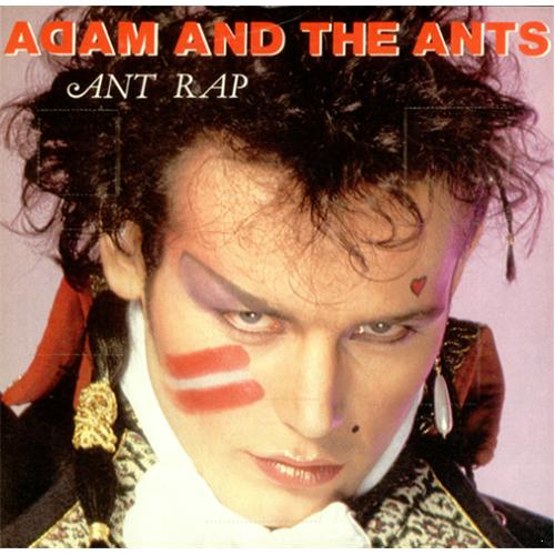 Adam & The Ants Ant Rap  Advent Sleeve 1981 UK 7 vinyl A1738