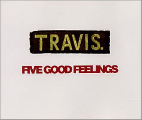 Travis (90s) Five Good Feeling 1997 UK CD single GOOD1